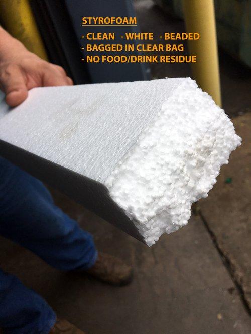 Accepted Styrofoam