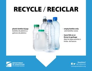 Recycle At School & Office - Plastic Bottles / Botellas de Plástico Thumbnail