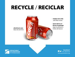 Recycle At School & Office - Aluminum Cans / Latas de Aluminio Thumbnail
