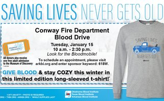 Conway Fire Department Blood Drive