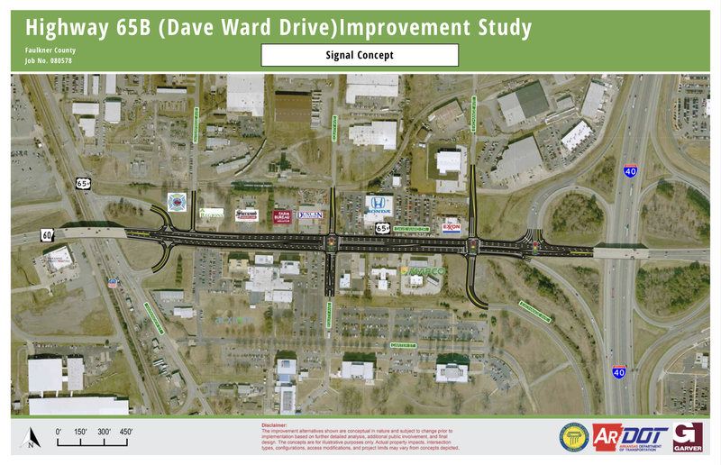 Highway 65B (Dave Ward Drive)Improvement Study - Signal Concept.png