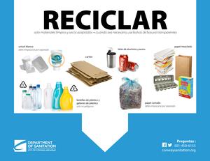 Reciclando en el Hogar - Signo de Reciclaje de Cocina Thumbnail