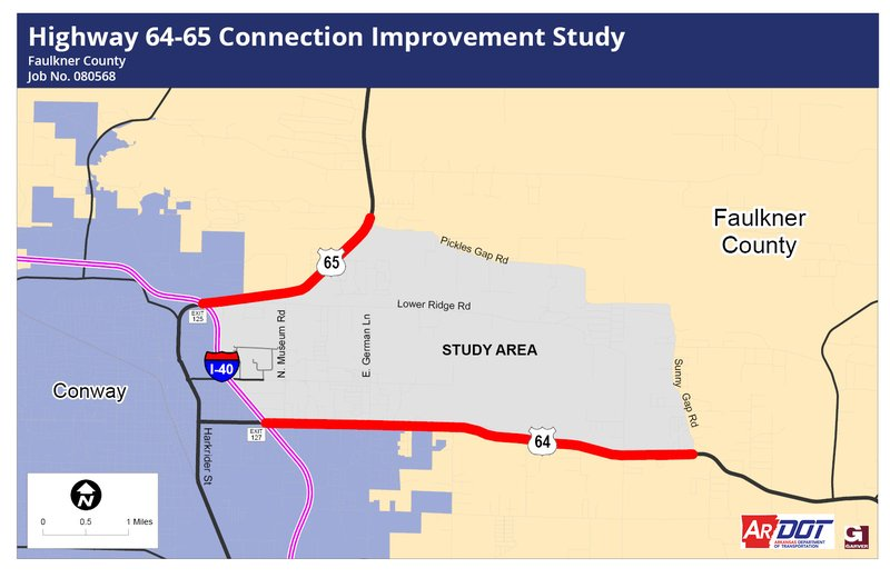 Highway 64-65 Conncetion Improvement Study Poster