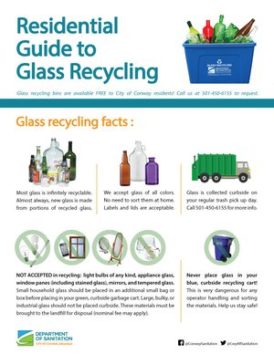 Residential Guide to Glass Recycling Thumbnail