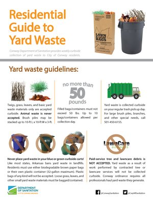 Residential Guide to Yard Waste Thumbnail