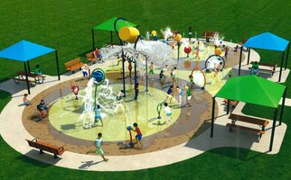 Splash Pad Render