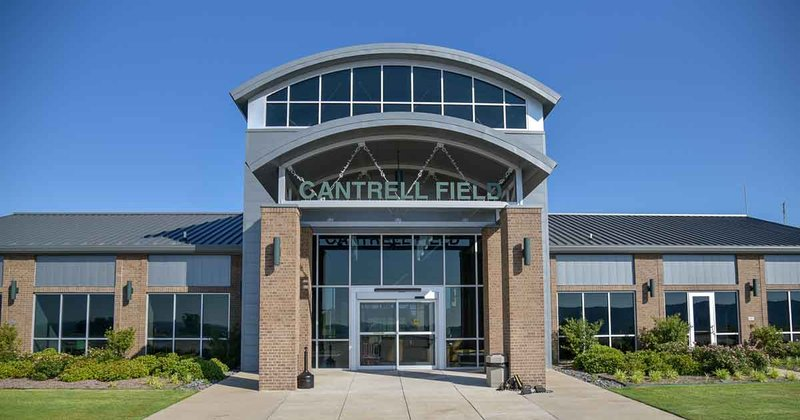 Cantrell Field Airport Front