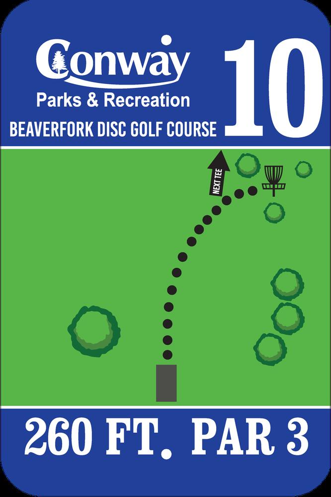 Disc Golf Course 10