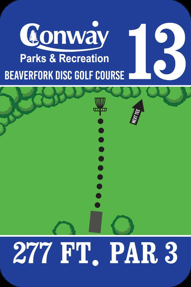Disc Golf Course 13