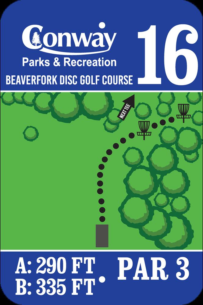 Disc Golf Course 16