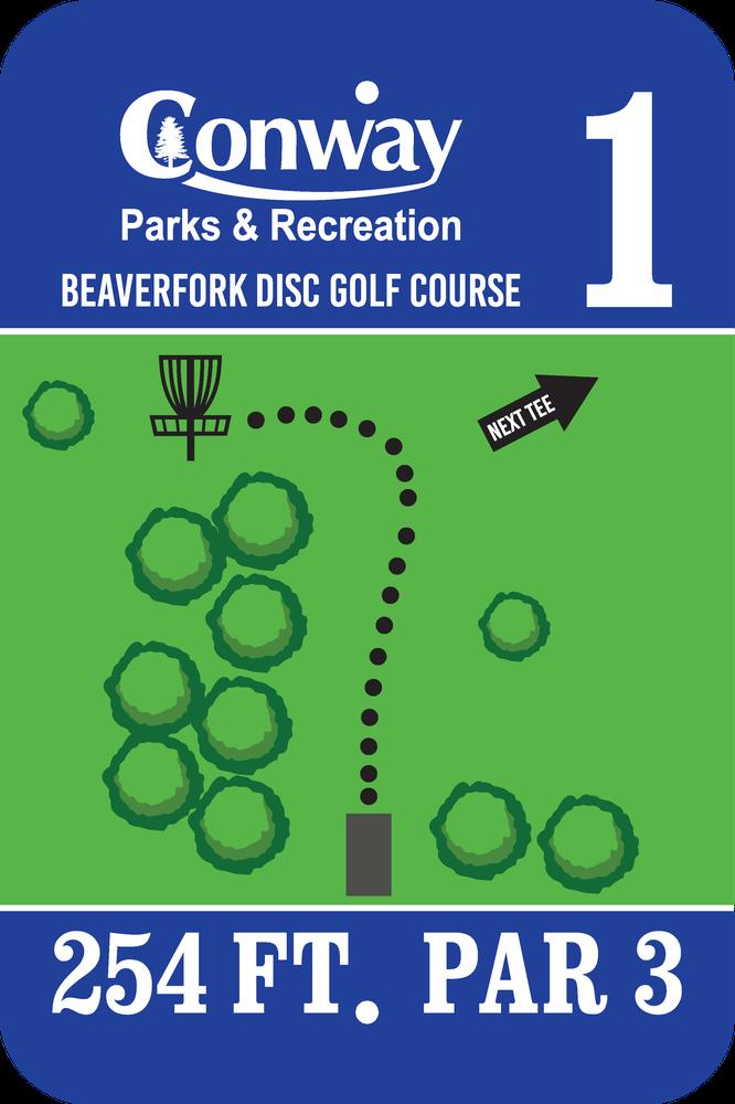 Disc Golf Course 1