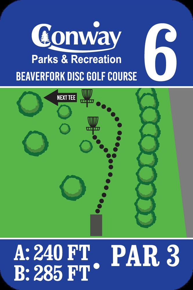 Disc Golf Course 6