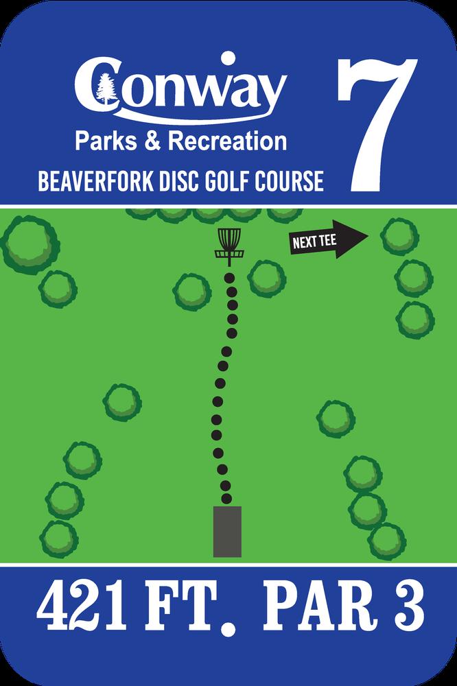 Disc Golf Course 7