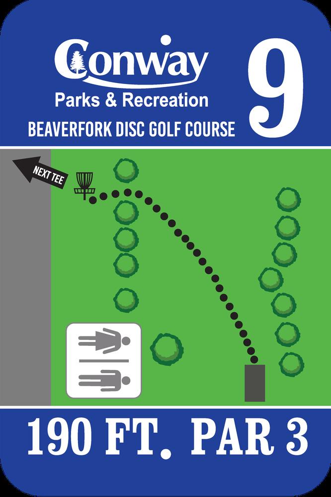 Disc Golf Course 9