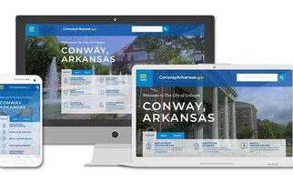 City of Conway Website Mockup