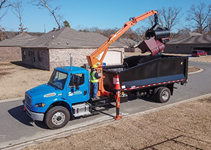 Residential Bulky Item Collection Truck